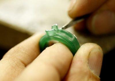 Modellazione in Cera di un anello