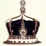Corona con diamante