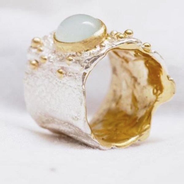 Anello Modellazione in Cera Argento e Oro