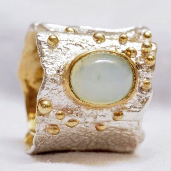 Anello Modellazione in Cera Argento e Oro 3