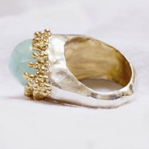 Anello Modellazione in Cera Argento e Oro 5